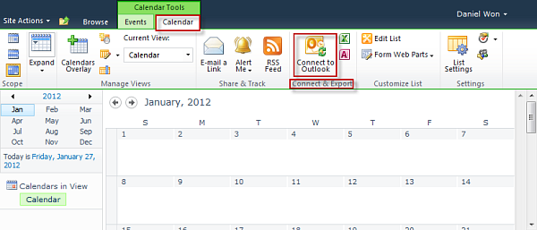 how to share outlook calendar and allow editing