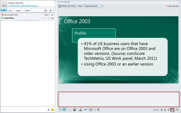 how to use presenter view in powerpoint 365