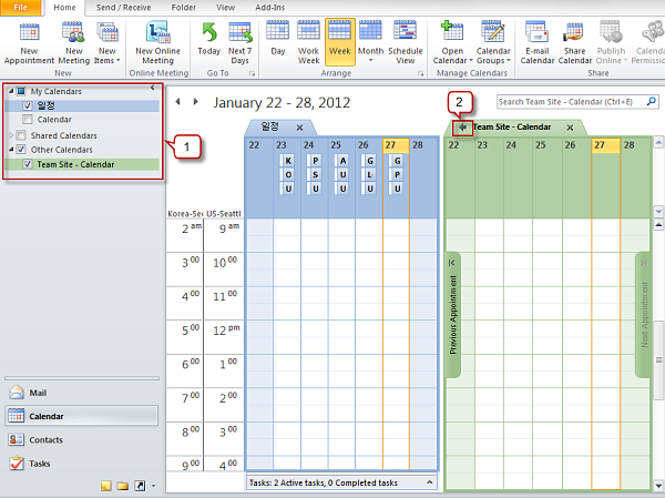 how to clear all notifications on calender office 365