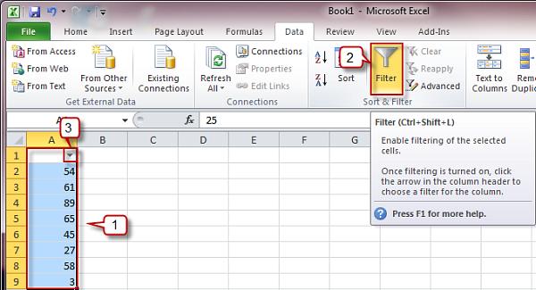 Excel Quickguide