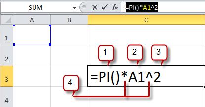 Create a Formula on Excel 2010