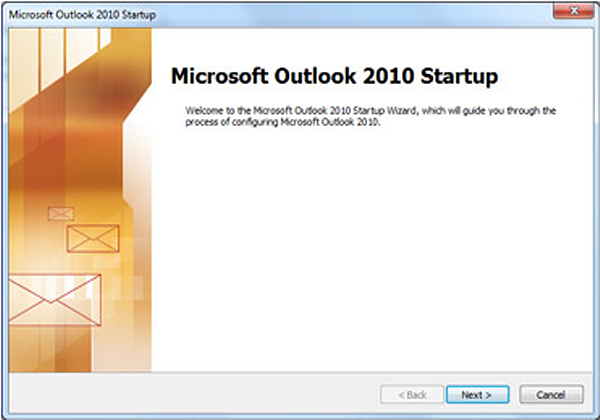 Add or remove an email account on Outlook 2010