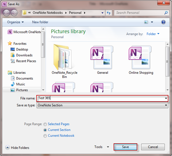 Creating a template in OneNote 2010 | OfficeTutor USA